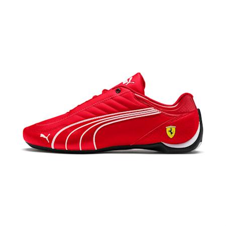 Zapatos Scuderia Ferrari Future Kart Cat para hombre, Rosso Corsa-Puma Black, pequeño