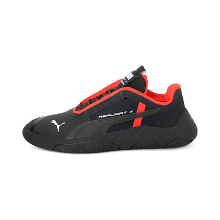 Replicat-X Circuit Shoes, Puma Black-Puma Red, small-IND