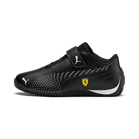 Scuderia Ferrari Drift Cat 5 Ultra II Little Kids' Shoes, Puma Black-Puma White, small