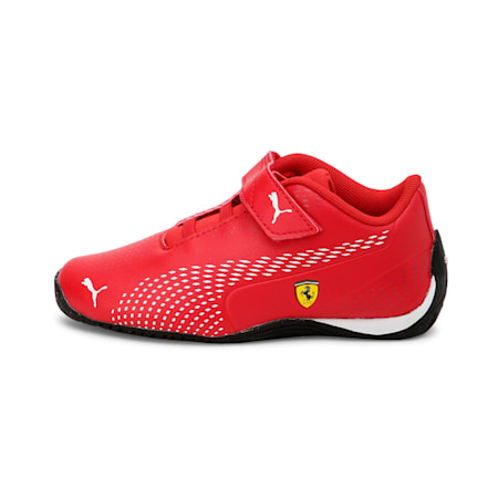 SF Drift Cat 5 Ultra II V PS Unisex Shoes, Rosso Corsa-Puma White, small-IND