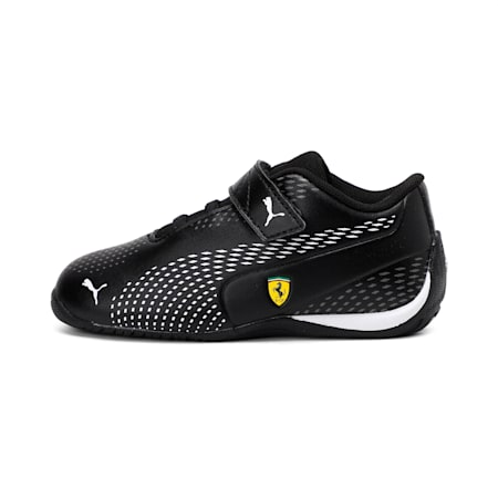 SF Drift Cat5 Ultra II V Inf Unisex Shoes, Puma Black-Puma White, small-IND