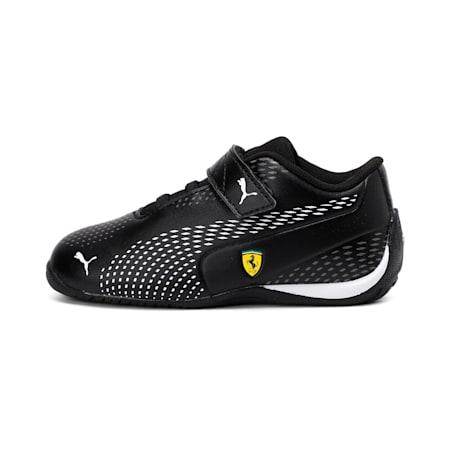 Scuderia Ferrari Drift Cat 5 Ultra II Toddler Shoes, Puma Black-Puma White, small-IND
