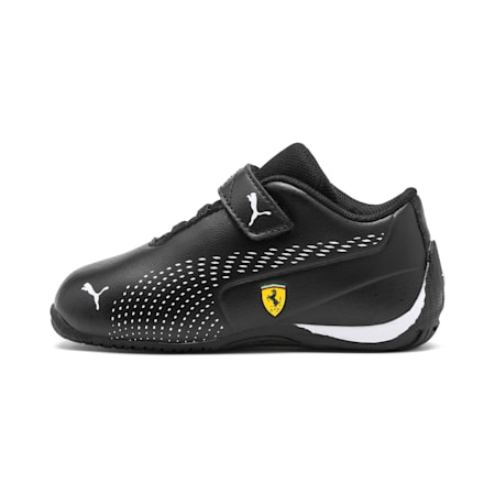 Scuderia Ferrari Drift Cat 5 Ultra II Toddler Shoes, Puma Black-Puma White, small