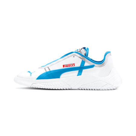 PUMA x PIRELLI Replicat-X Sneaker, Puma White-AZURE BLUE, small