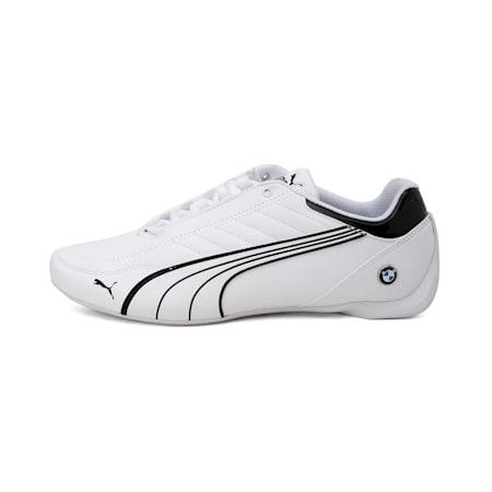 BMW M Motorsport Future Kart Cat Shoes, Puma White-Puma Black, small-IND