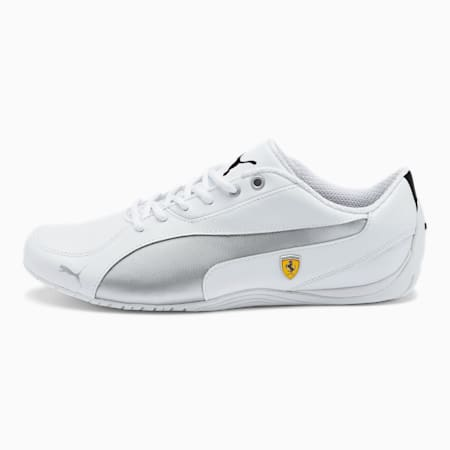 Scuderia Ferrari Drift Cat 5 NM Men's Shoes, Puma White-Puma White, small