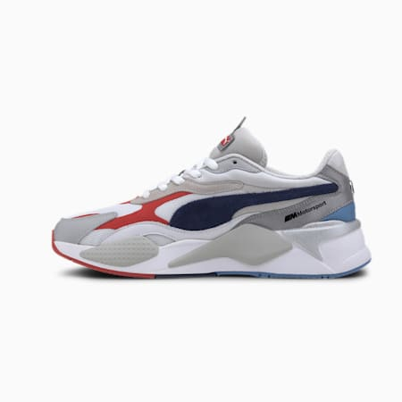 BMW M Motorsport RS-X³ Men's Sneakers  , White-Gray Violet-Marina, small-IND