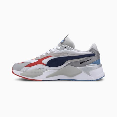 BMW M Motorsport RS-X³ Sneakers, White-Gray Violet-Marina, small