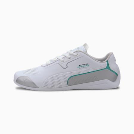Mercedes-AMG Petronas Drift Cat 8 Men's Motorsport Shoes, Puma White-Puma Silver, small