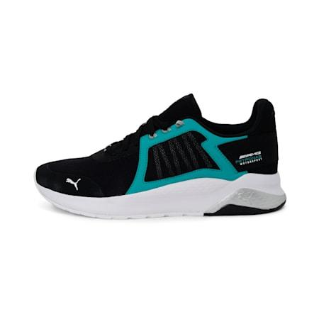 Mercedes Anzarun Unisex Shoes, P Black-Spectra Green-P Wht, small-IND