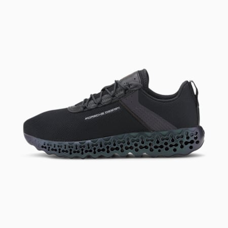 Porsche Design Xetic Shift Men's Running Shoes, Jet Black-Jet Black, small