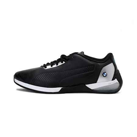 BMW Motorsport Kart Cat-X Tech Unisex Shoes, Puma Black-Puma Silver-Puma Black, small-IND