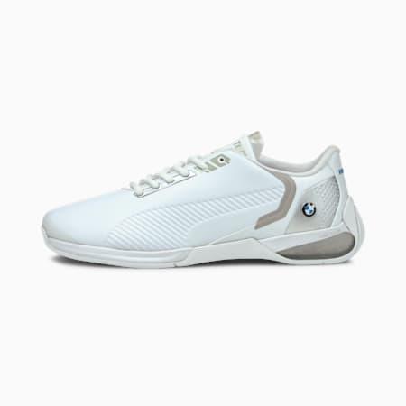 BMW Motorsport Kart Cat-X Tech Unisex Sneakers, Puma White-Puma Silver-Puma White, small-IND