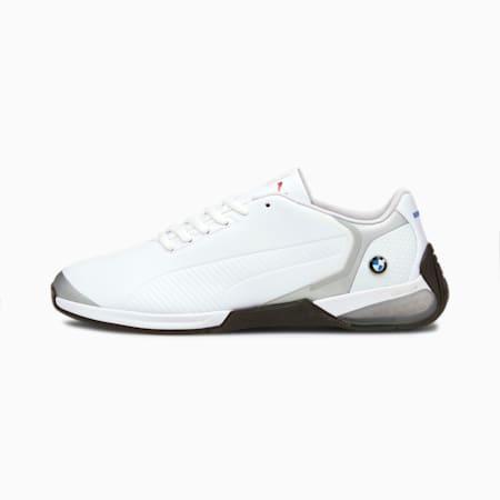 BMW Motorsport Kart Cat-X Tech Unisex Shoes, Puma White-Gray Violet-Puma Black, small-IND