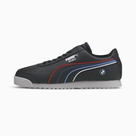 BMW M Motorsport Roma Men's Sneakers, Puma Black-Puma White, small