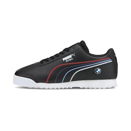 BMW M Motorsport Roma Boys' Sneakers JR, Puma Black-Puma White, small