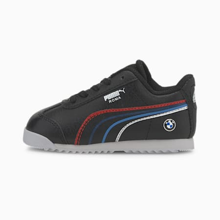 BMW M Motorsport Roma Toddler Shoes, Puma Black-Puma White, small