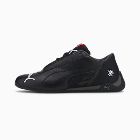 BMW M Motorsport R-Cat Youth Schuhe, Puma Black-Puma Black, small