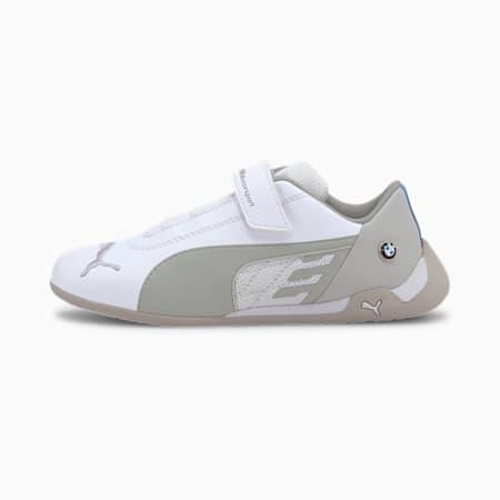 BMW M Motorsport R-Cat V Kids' Shoes, Puma White-Puma White, small-GBR
