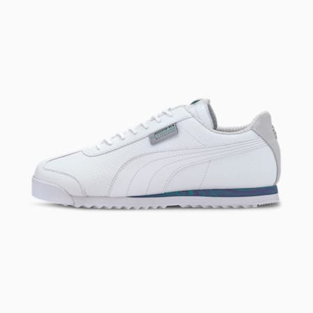 Mercedes Roma Trainers, P Wht-Spectra Grn-Lumin Pur, small