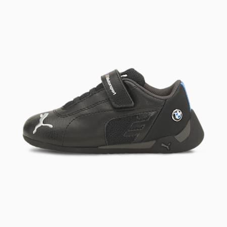 Zapatillas BMW M Motorsport R-Cat V para bebés, Puma Black-Puma Black, small