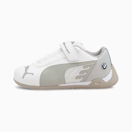 BMW M Motorsport R-Cat V Babies' Shoes, Puma White-Puma White, small-GBR