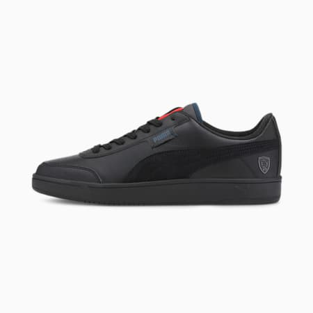 Scuderia Ferrari Style Court Legend Unisex Shoes, P Black-P Black-P Black, small-IND