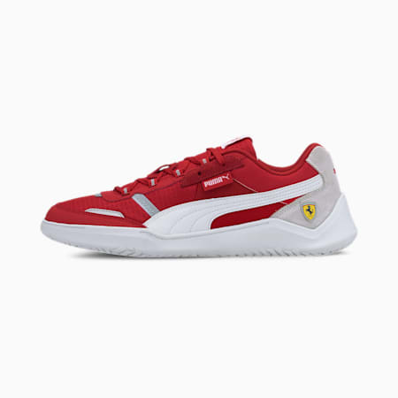 Scuderia Ferrari Race DC Future Men's Motorsport Shoes, Rosso Corsa-P White-P White, small