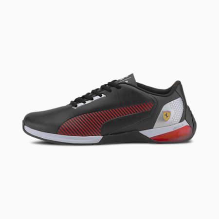Chaussure de sport automobile Scuderia Ferrari Race Kart Cat-X Tech, P Black-Rosso Corsa-P Black, small