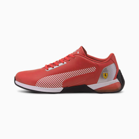 Scuderia Ferrari Race Kart Cat-X Tech Motorsport Shoes, Rosso Corsa-P White-P Black, small-IND