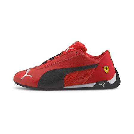 Scuderia Ferrari Race R-Cat Kid's Motorsport Shoes, Rosso Corsa-Puma Black, small-IND