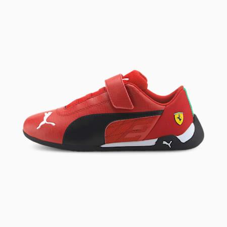 Scuderia Ferrari Race R-Cat Kids' Motorsport Shoes, Rosso Corsa-Puma Black, small-SEA