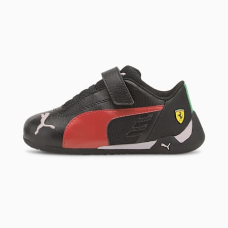 Zapatillas Scuderia Ferrari Race R-Cat V para bebés, Puma Black-Rosso Corsa, small
