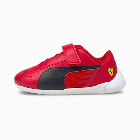Scuderia Ferrari Race R-Cat V Babies' Trainers, Rosso Corsa-Black-White, small-GBR