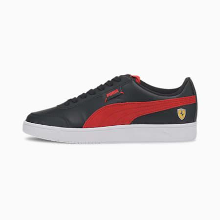 Scuderia Ferrari Race Court Legend Unisex Shoes, P Blk-Rosso Corsa-P Wht, small-IND