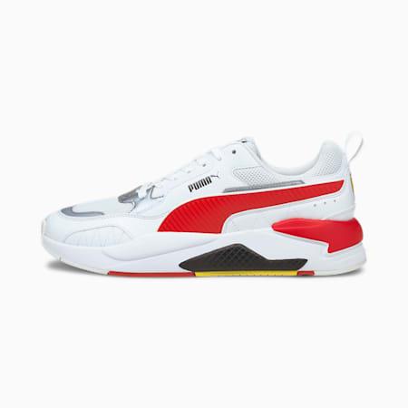 Scuderia Ferrari Race X-Ray 2 Unisex Shoes, Puma White-Rosso Corsa, small-IND