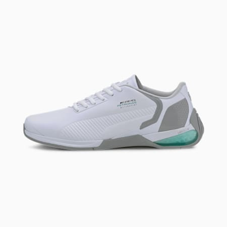 Mercedes Kart Cat-X Tech Unisex Shoes, P Wht-Spectra Grn-Mer T Slr, small-IND