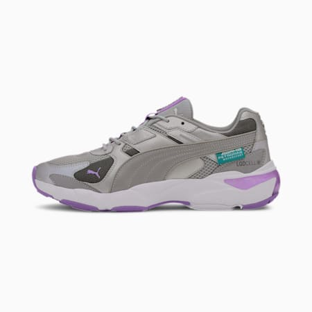Mercedes-AMG Petronas LQDCELL Extol Men's Sneakers, Smoked Pearl-P Silr-L Purple, small