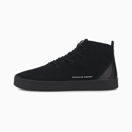 Porsche Design Meister Mid Men's Motorsport Shoes, Jet Black-Jet Black, small