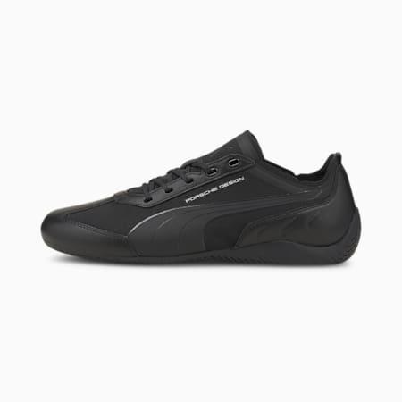 Porsche Design Speedcat X Men's Motorsport Shoes, Jet Black-Jet Black, small-GBR