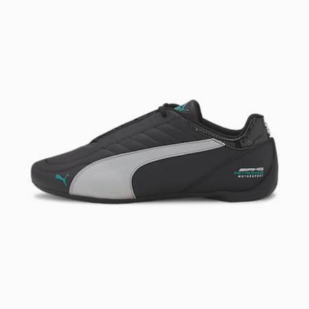 Mercedes Future Kart Cat Unisex Shoes, Puma Black-Puma Silver, small-IND