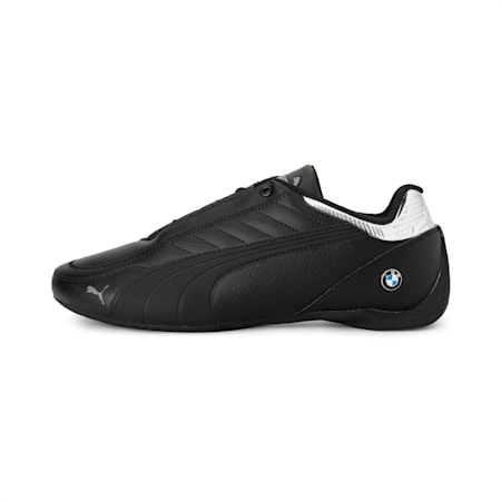 BMW M Motorsport Future Kart Cat Shoes, Puma Black-Puma Silver, small-IND