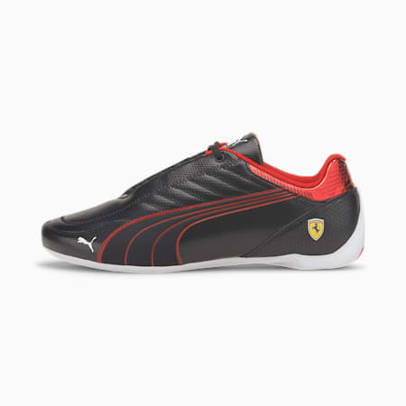 Scuderia Ferrari Race Future Kart Cat Unisex Shoes, Puma Black-Rosso Corsa, small-IND