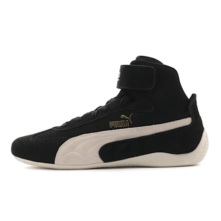 Speedcat Sparco Mid Trainers, Blk-Whisper White-Team Gold, small