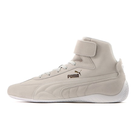 Speedcat Sparco Mid Trainers, Gray Violet-Wht-Team Gold, small