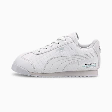Mercedes-AMG Petronas Roma Toddler Shoes, Puma White-Puma White, small