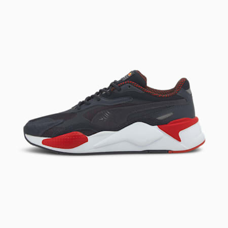 Redbull Racing RS-X³ Unisex Shoes, NIGHT SKY-White-Chinese Red, small-IND