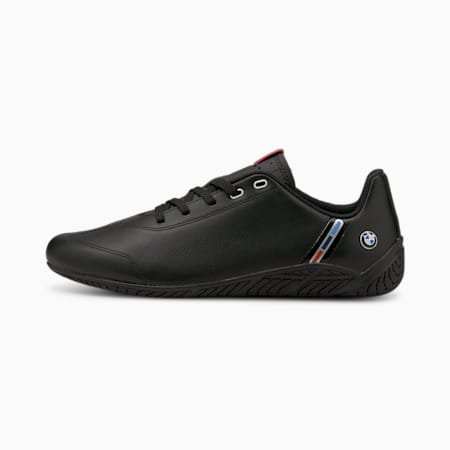 BMW M Motorsport Ridge Cat Motorsport Shoes, Puma Black-Puma Black, small-IND