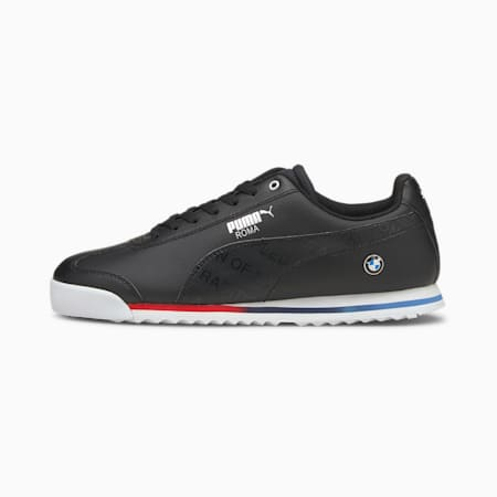 BMW M Motorsport Roma Motorsport Shoes, Puma Black-Puma Black, small-GBR
