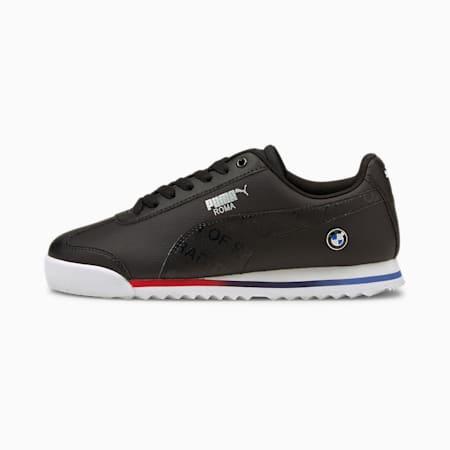 BMW M Motorsport Roma Sneakers JR, Puma Black-Puma Black, small